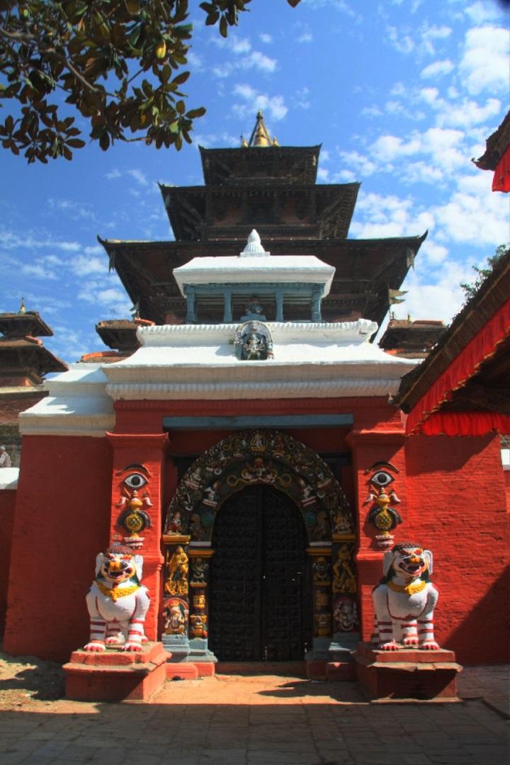 Der Taleju-Tempel in Kathmandu