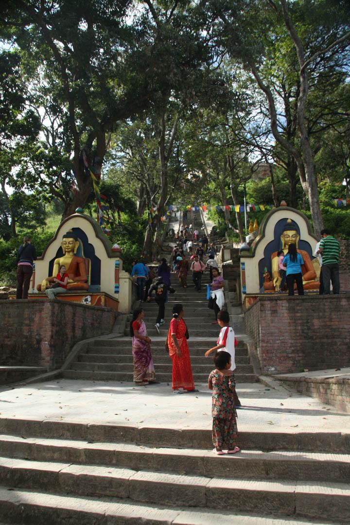 Monkey Temple unterer Eingang