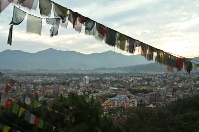 Smog über Kathmandu