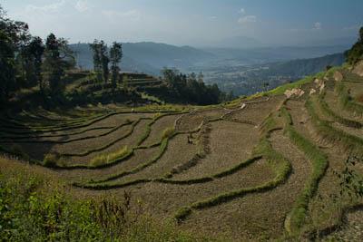 Terrassen von Nagarkot
