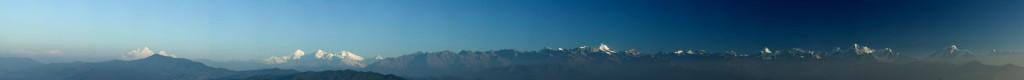 Gipfelspitzenpanorama