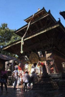 Der zentrale Tempel von Vajra Yogini
